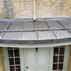 Bay Porch lead roof